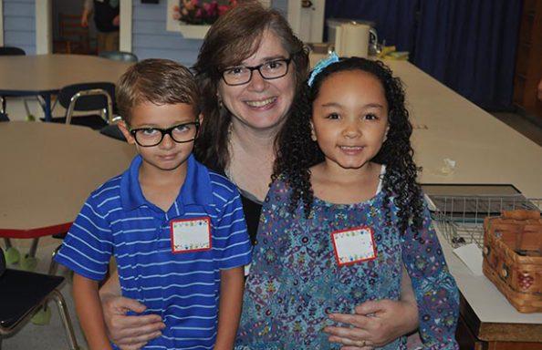 Split Rock Kindergartners with Teacher