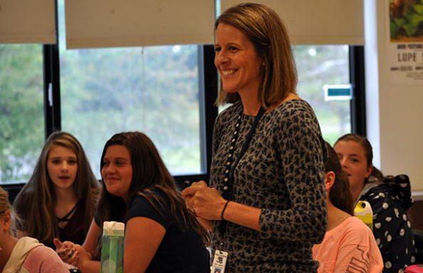 WGMS Teacher Teaching a Class