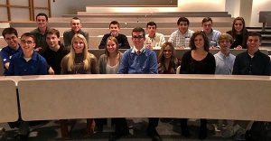 WGHS Business Marketing Honor Society - New Memebers