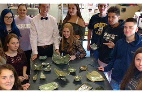 Ceramics Students