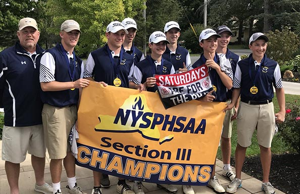 Boys Golf Section III Champs