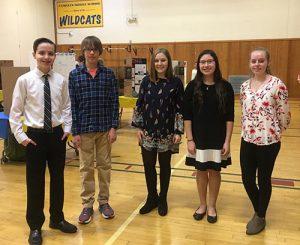 CMS Science Fair Eighth Graders