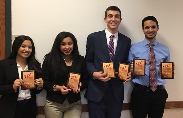 WGHS FBLA Student Winners