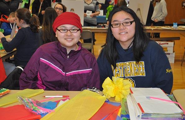 Culture Fair 2018 Craft Girls