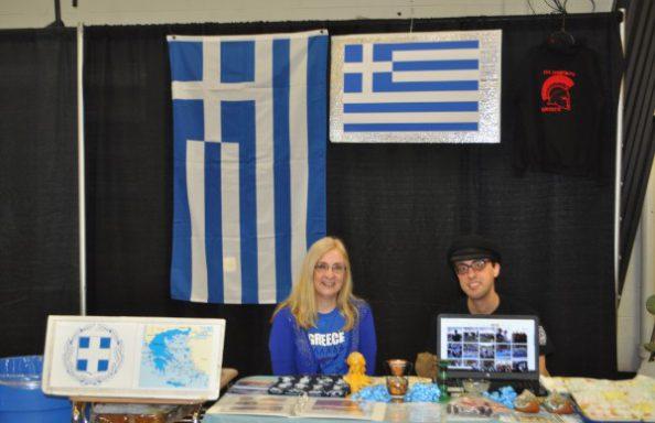 Culture Fair 2018  Greek Booth