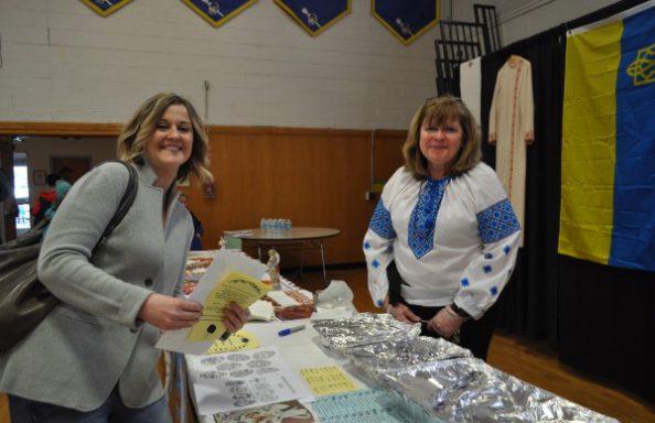 Culture Fair 2018  Ukranian Booth
