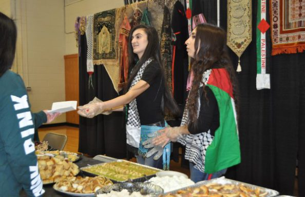 Culture Fair 2018 Middle Eastern Booth