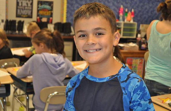 Split Rock Boy smiling