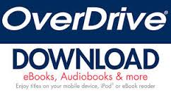 OverDrive Download eBOoks, Audiobooks & More Logo