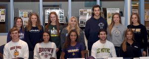 Fall 2017 Athletes Letter of Intent Signing
