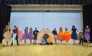 WGMS Musical Charlie Brown Cast