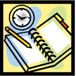 High School Lab, Library, Cart Schedule Clipart