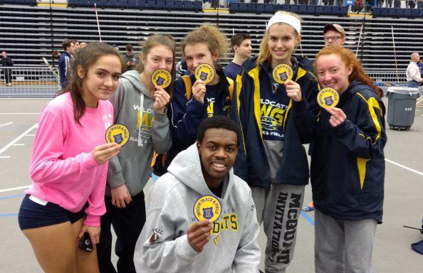 Athletics WGHS Indoor Track Team