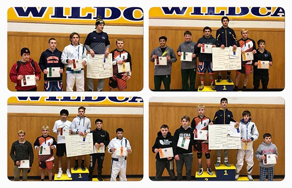 Wrestling Section Champions