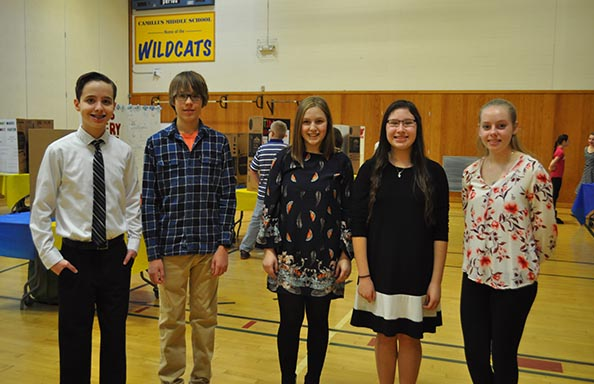 CMS Science Fair Eighth Graders