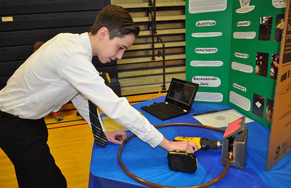 CMS Science Fair Project Demonstration