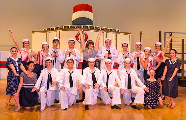 WGHS Musical Anything Goes Full Cast Picture