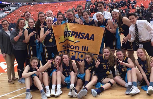 Girls Basketball Section 3 Champions 2018