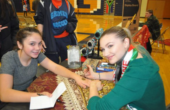Culture Fair 2018 Middle Eastern Booth Henna Tatoo