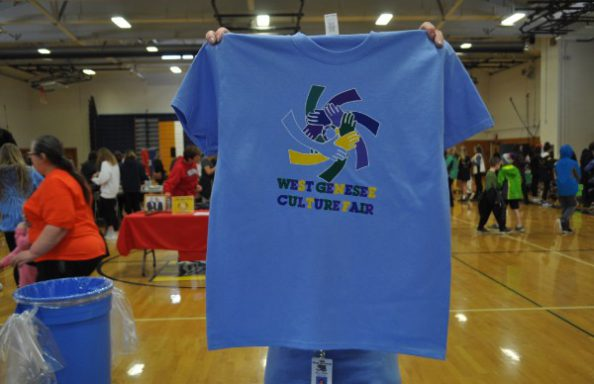 Culture Fair 2018 Middle Eastern Booth Tshirt Front