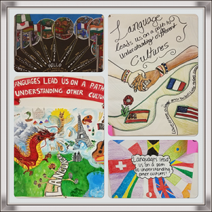 Foreign Language Poster Contest Collage