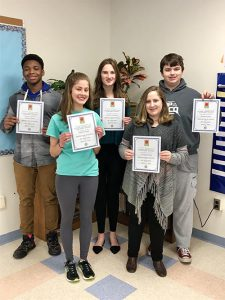 Essay Contest Winners