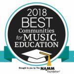 Best Music Education Communities 2018 Logo