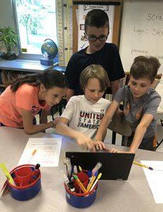 Split Rock Fifth Graders Coding