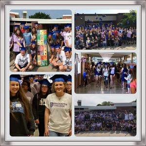 Senior Walk Collage 2018 for News
