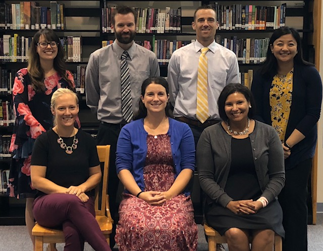 New Secondary Teachers for 2018-2019