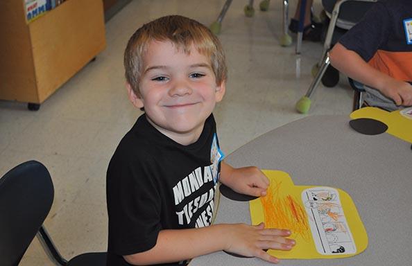 Split Rock Kindergarten Orientation Boy