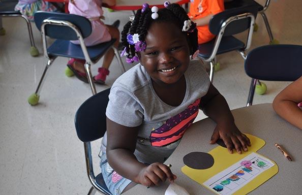 Split Rock Kindergarten Orientation Girl