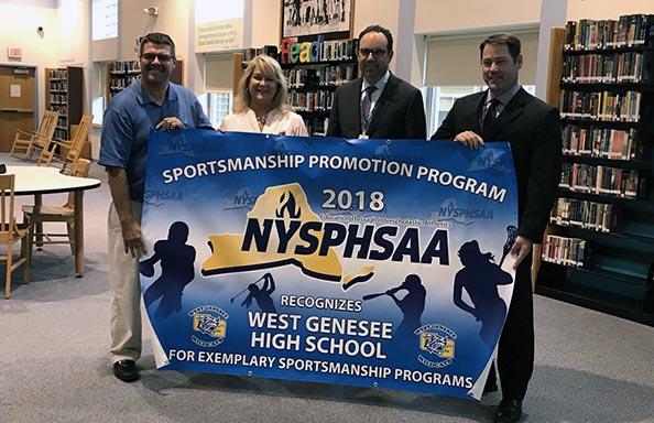 Sportsmanship Award Banner
