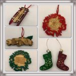 Ornaments made by WGHS Technology Club Students