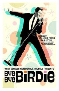 Poster for Bye Bye Birdie at WGHS