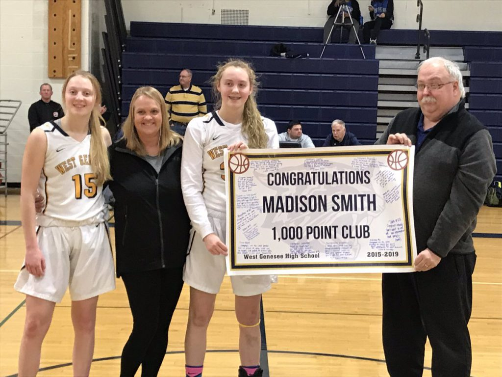 Madison Smith 1000 Club Banner