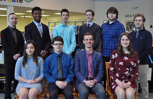WGHS Top Ten for Class of 2019