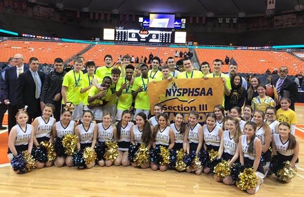 Boys Basketball Section 3 Champs