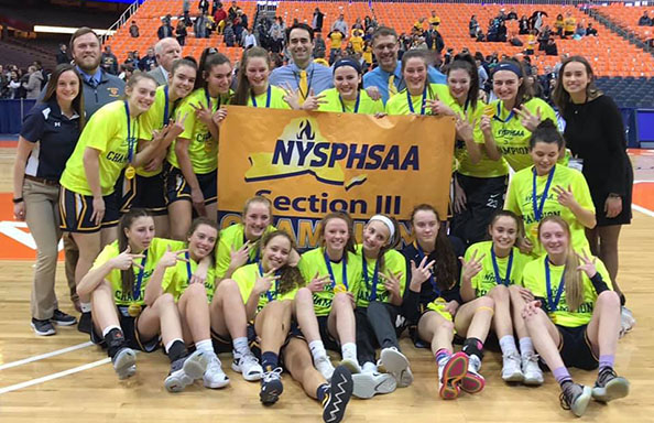 Girls Basketball 2019 Section 3 Champs