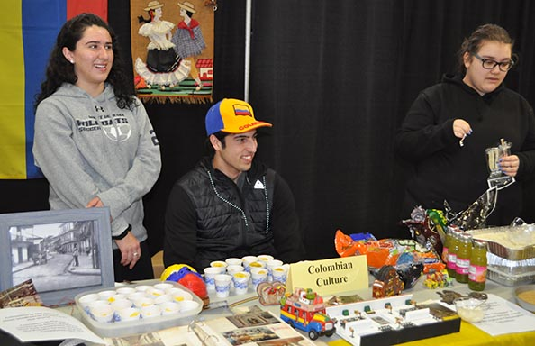 2019 Culture Fair Columbia Booth