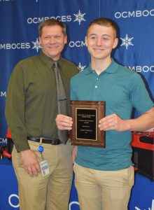 Jadin Thomas Received OCM BOCES Recognition