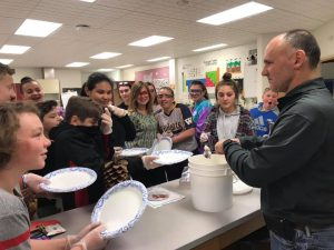 Dr. Druger Teaches WGMS Students