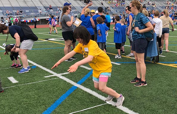 Picture at Special Olympics 2019