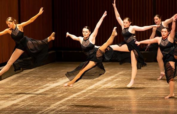 WGHS Dancers Perform at Concert