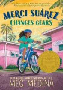 MS Summer Reading Book Cover Changes Gears
