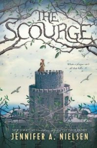 MS Summer Reading Book Cover The Scourge