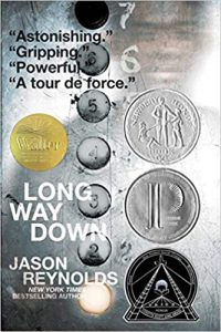 Summer Reading Book Cover Long Way Down