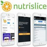 Nutrislice Logo with Phone Images
