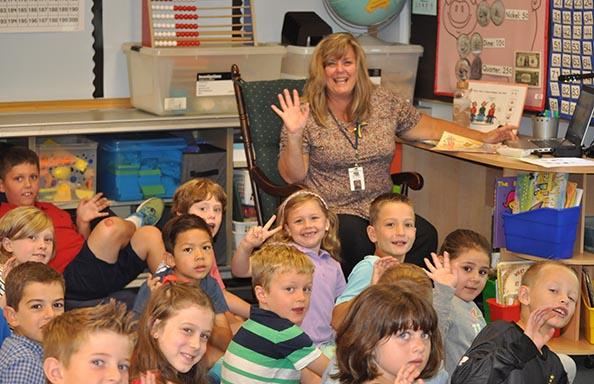 SR First Week Classroom