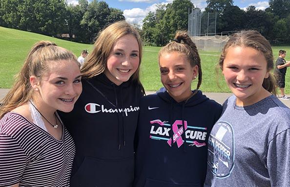 WGMS First Week Group of Girls